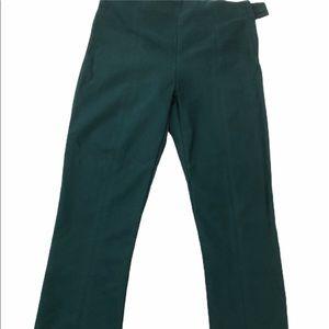 M.m.Lafleur forest green stretchy pants
